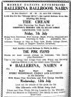 Cream at The Ballerina Ballroom Nairn